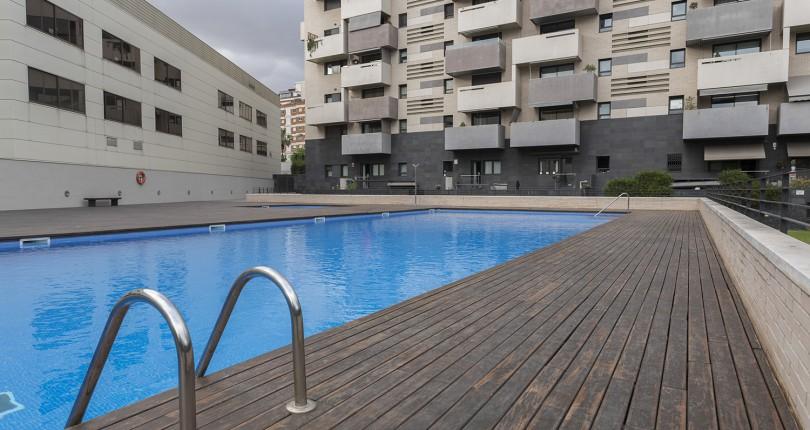 Vivir en un oasis, en Barcelona